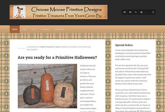 choose moose primitive designs